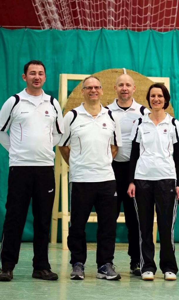 Von links: Alexander Fröse, Günter Naumann, Stefan Breitfelder, Christine Ahrens